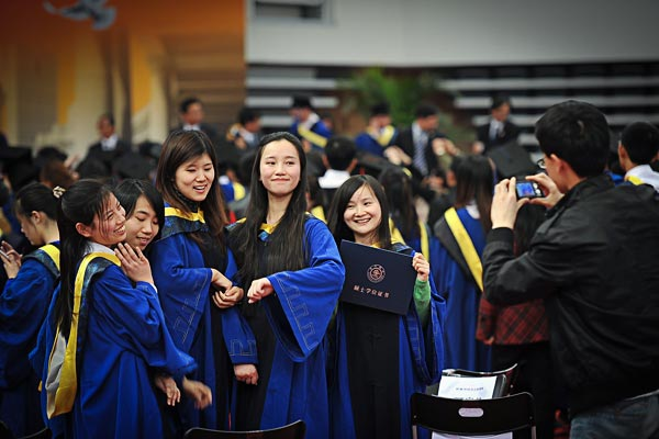 Pride and Happiness – Photo by Liang Hanxiao, SJTU